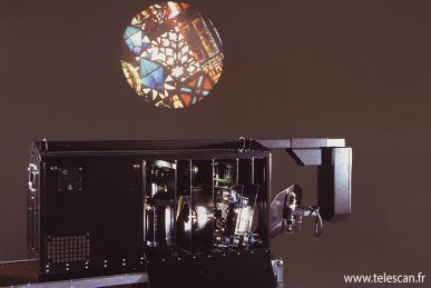 Projecteurs cameleon telescan for Miroir tilt projector